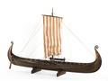 Fartygsmodell-OSEBERGSKEPPET - Sjöhistoriska museet - S 0967.tif