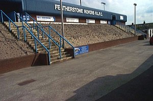 Featherstone Rovers - Image: Featherstone Rovers Rugby Ground. geograph.org.uk 223815