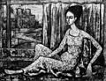 Femme à demi allongée par Enrico Campagnola.jpg