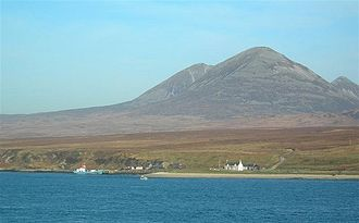 Feolin - Feolin Ferry, the view from Port Askaig