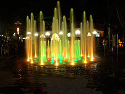 Feria de Candon Fountain at the city plaza