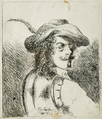 Fernando II of Portugal - Retrato de fidalgo olhando de perfil, 1836.png