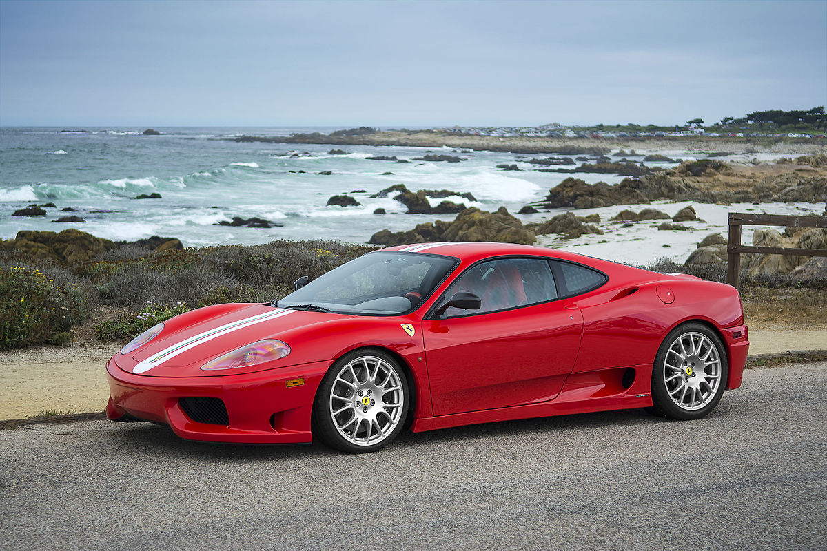 Ferrari 360 Вікіпедія