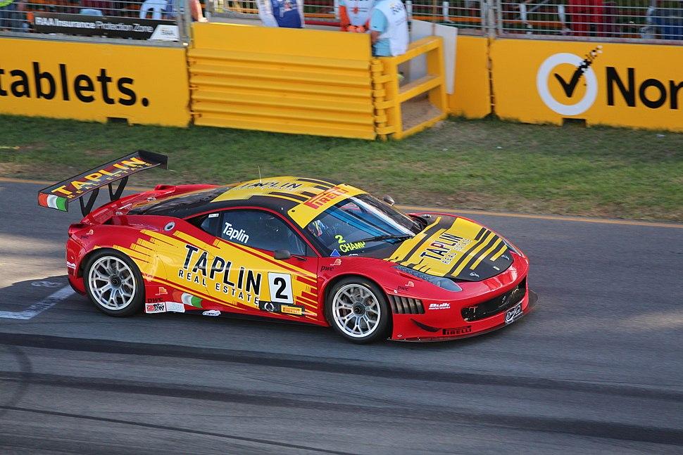 Ferrari 458 GT3 - Clipsal 500 2013
