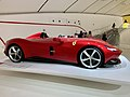 Ferrari Monza SP1 at the Museo Enzo Ferrari, Modena, Italy, 2019, 03.jpg