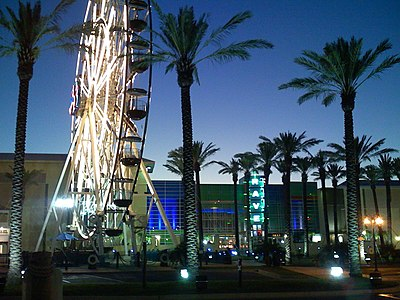 Ferris wheel in Orange Beach Ferris wheel in Orange Beach AL.jpg