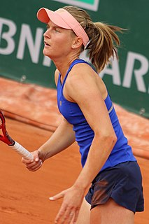 Fiona Ferro French tennis player