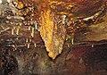 Ferruginous travertine dripstone (Ohio Caverns, western Ohio, USA) (30981346262).jpg