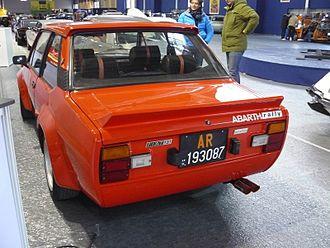 Fiat 131 - Image: Fiat 131 abarth