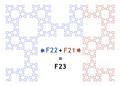 Fibonacci Fractal F22 & F21.png