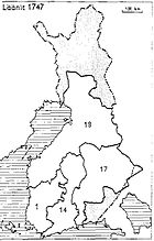 Finnish counties 1747.jpg