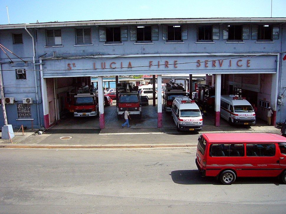 Fire Station Castries