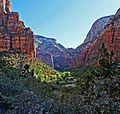 First Sun in Zion Canyon 5-14 (16791857953).jpg