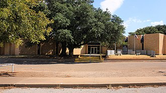 Fisher County, Texas - Image: Fisher County Texas Courthouse 2015