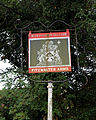 Fitzwalter Arms sign Goodnestone Dover Kent England.jpg