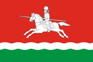 Флаг Первомайского района (Оренбургская область)