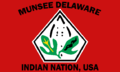 Flag of the Munsee Delaware Indian Nation, USA.PNG