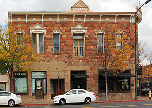 Railroad Addition Historic District (Flagstaff, Arizona) - McMillan Building, Northwest corner of Route 66 and Leroux St., Flagstaff, AZ
