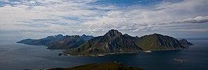 Flakstadøya - View of the island