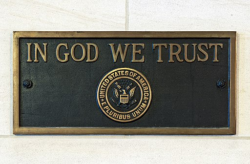 "Flickr - USCapitol - ""In God We Trust"" Plaque"