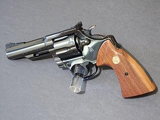 """Colt Trooper - Colt Trooper Mk III with a 4"""" barrel"""