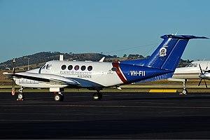 Flight Inspection Australia Beechcraft 200 Super King Air CBR Gilbert-1.jpg