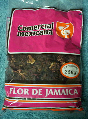 Hibiscus tea - Bag of flor de Jamaica calyces from Mexico