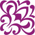 FlowerS Ornament Purple Up Right.png