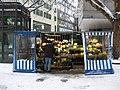 Flower seller junction of Kaufingerstrasse and Rosenstrasse Munich - geograph.org.uk - 7737.jpg