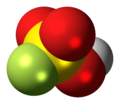 Fluorosulfuric acid molecule spacefill.png