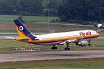 Fly Air Airbus A300B2K-3C TC-FLJ basic Japan Air System colors (22270848745).jpg