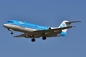 Fokker 70 - KLM Cityhopper Fokker 70