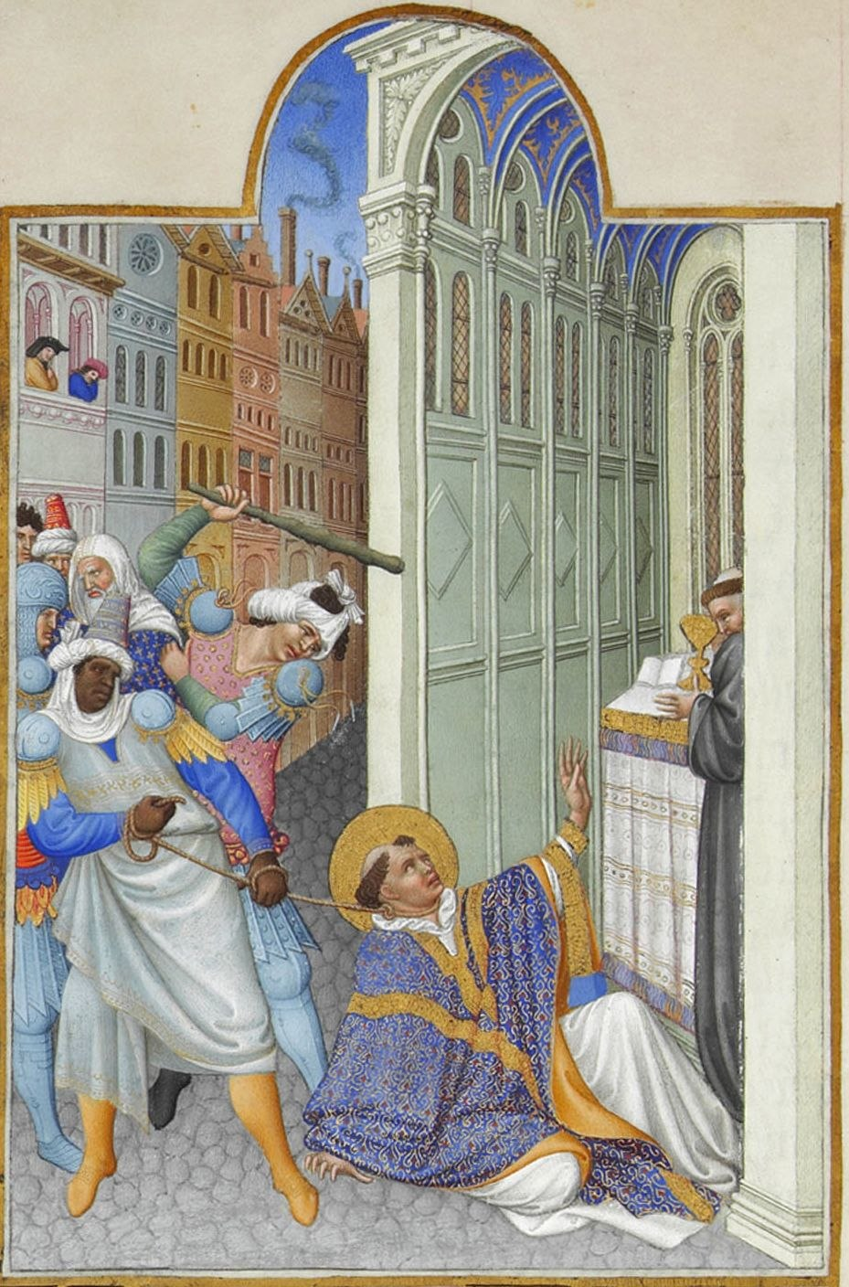 Folio 19v - The Martyrdom of Saint Mark