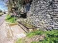 Fontaine-abreuvoir, route de Malans. Amondans.jpg