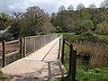 Footbridge over mouth of Aller Brook - geograph.org.uk - 1835963.jpg
