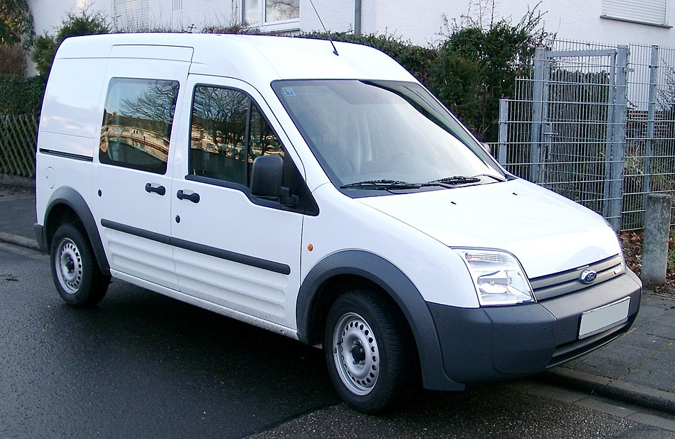 Ford Transit Connect front 20080110