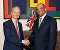 Foreign Office Minister, Henry Bellingham With Ewart Brown Prime Minister Of Bermuda (4730036742).jpg