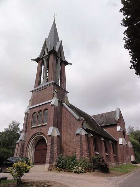Foreste (Aisne) église Saint-Quentin