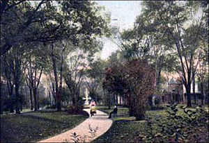 Forman Park - Forman Park circa 1900