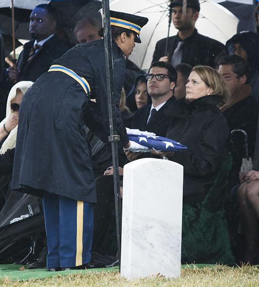 Former senator, WWII veteran buried at Arlington 150310-A-DZ999-312