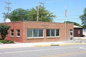 Forreston, Illinois - Image: Forreston, IL Post Office