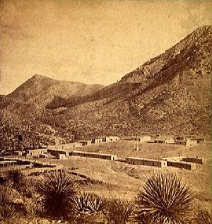 Fort Bowie - Image: Fort Bowie 1880