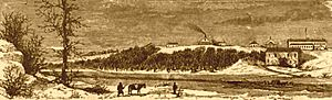 Fort Gibson - Ft. Gibson in the 1870s.