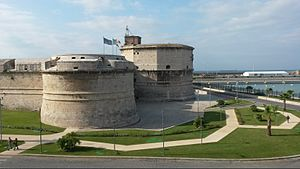 Civitavecchia - Civitavecchia fort and harbour