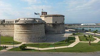 Civitavecchia - Civitavecchia fort and harbour
