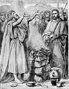 Foster Bible Pictures 0073-1 Offering Up a Burnt Sacrifice to God.jpg