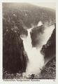 Fotografi av Rjukanfos. Telemarken, Vestfjorddalen, Norge - Hallwylska museet - 105749.tif