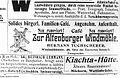 """Fotothek df rp-b 0190030 Leipzig. Werbeanzeige für das """"Familien-Cafe"""" """"Zur Altenburger Windmühle"""" in der.jpg"""