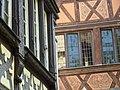 Fr Strasbourg Timber framed houses from Musée de l'Oeuvre Notre-Dame 2.jpg