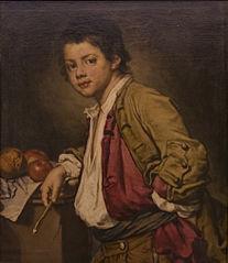 Portrait d'un jeune peintre